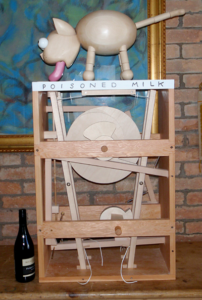 Poisoned Milk , a large version of a small automata.