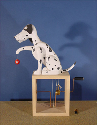 dalmation with yoyo